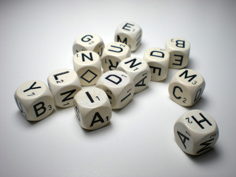 Haba Letter Dice   Buchstaben Wurfel   Dice Collection.com