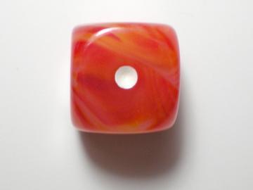 Chessex Phantom Orange w/White16mm d6