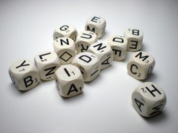 Haba Letter Dice - Buchstaben Wurfel