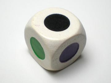 Koplow Games 6 Color Dot 16mm d6 Dice