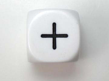 Koplow Games Basic Math Function 16mm d6 Dice