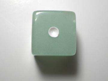 Koplow Games Glow in the Dark Blue w/White 16mm d6 Dice