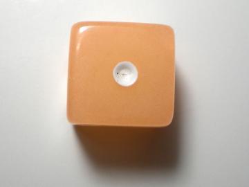 Koplow Games Glow in the Dark Orange w/White 16mm d6 Dice
