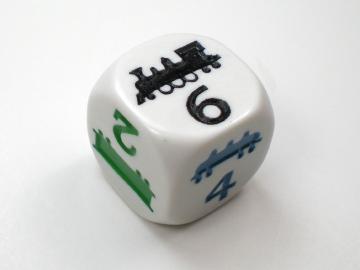 Koplow Games Train Dice Game
